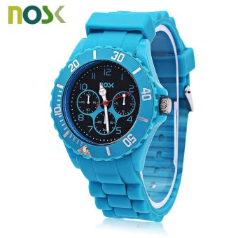 Harga NOSK Children Quartz Decorative Sub-dial Watch (Blue) - intl