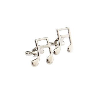 Harga Fashion art music notes cufflinks men's french cuff shirt cuff cufflinks nail fashion wild