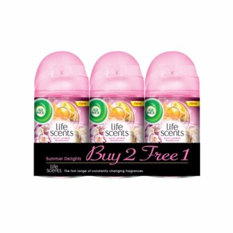 Harga Air Wick Summer Delights Value Pack (2 x 250ml + 250ml)