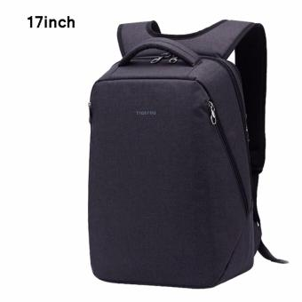 Harga Tigernu Multifunctional Fashion Women Men 17 Inches Laptop Backpack T-B3164(Black grey)