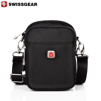 New Brand SWISSGEAR Waterproof Oxford cloth For ipad Shoulder Bags Portable Men and Women Laptop Messenger Waist Bag JDB99 Large - Intl