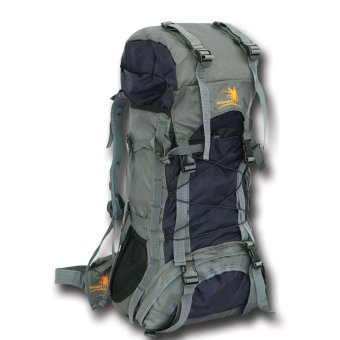 Harga Free Knight Outdoor Hiking Climbing And Travel Nylon Backpack Bag 60L (Navy Blue)