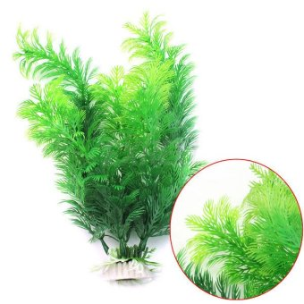 Harga OEM Plastic Artificial Plant Aquarium Decoration - intl