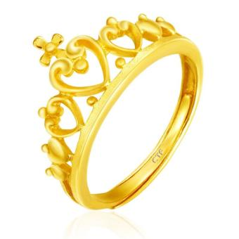 Harga Chow Tai Fook 999.9 Pure Gold Crown Ring