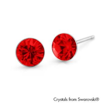 Harga Lori Earrings (Light Siam) - Crystals from Swarovski®