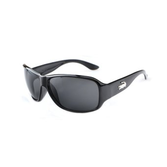 Harga Sunglasses Men Rectangle Sun Glasses BlackGrey Color Brand Design