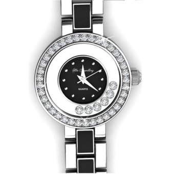 Harga Crystal Watch (Black) - Crystals from Swarovski®