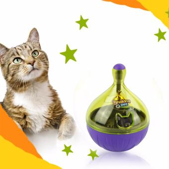 Harga Pet Food Training Dispenser Pet Interactive Roly-Poly Toy With One Bell For Cats And Dogs Toy Feeder Ball Small - intl