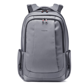 Harga Tigernu Waterproof Nylon Anti-theft Travel Business Backpack for 12.1-15.6 Inches Laptop(Dark grey) - Intl