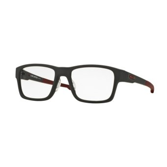 Harga Oakley Eyeglasses Splinter (A) OX8095 - Prescription Eyewear - Soft Touch Pavement (809506) Size 54 Clear
