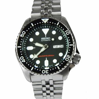 Harga Seiko Automatic Diver Men's Silver Stainless Steel Strap Watch SKX007K2