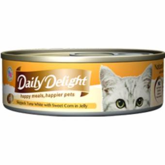 Harga Daily Delight DD56 Skipjack Tuna White with Sweet Corn in Jelly x24 Cans
