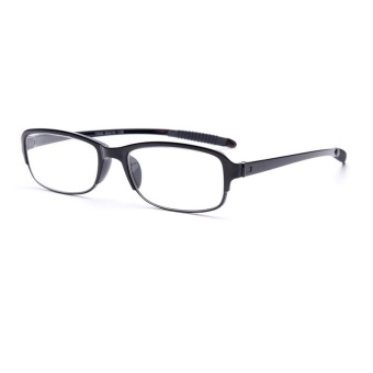 Harga New Arrival Light Comfy Rectangle Stretch Business Reading Glasses Presbyopia 1.0 1.5 2.0 2.5 3.0 3.5 4.0 Diopter Grandparents Eyewear Black Color - intl