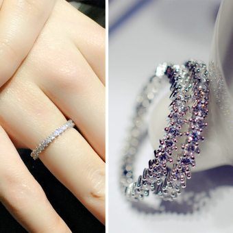 Harga Simple zircon fine ring