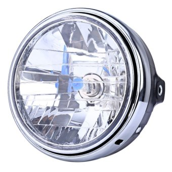 Harga 12V Motorcycle Crystal Round Headlight Modified Headlamp Assembly for Honda Bumblebee CB400 / 900