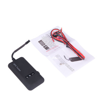Harga Hot New Quad band GSM/GPRS/GPS Tracker Car Bike Tracking Device TK110 - intl