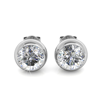 Harga Moon Earrings - Crystals from Swarovski®