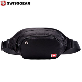 "New Brand SWISSGEAR/SCHWYZ+CROSS Waterproof Polyester 7"" Laptop SWISS Unisex Fashion Shoulder Bag Solid Waist Bag JDB94 - Intl"