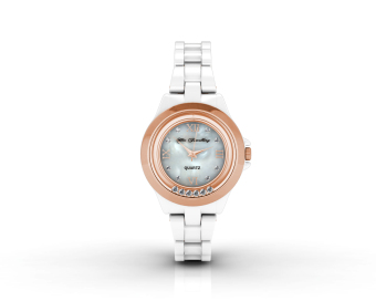 Harga Hip Watch (White) - Crystals from Swarovski®
