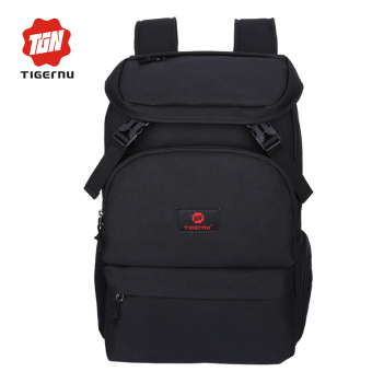 "Harga Tigernu Fashion Large Capacity 16"" Fashion Laptop Backpack3210(Black) - intl"