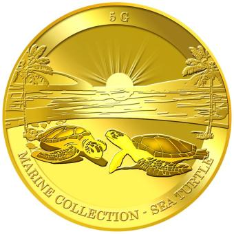 Harga Puregold 5g Sea Turtle Gold Coin