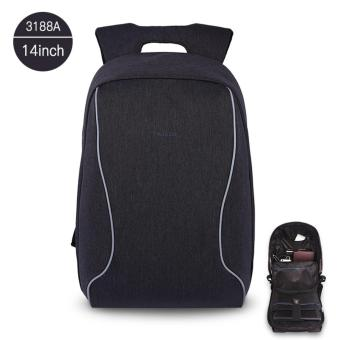 Harga Tigernu Anti-theif Design Casual Backpack for 12-14inches Laptop 3188A14 - intl