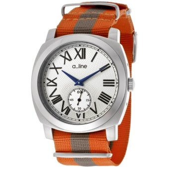 A_line Women Watches Pyar Orange and Gray AL-80023-02-OR-NS1