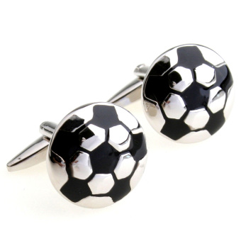 Harga TRiES Fun World Cup football French cufflinks