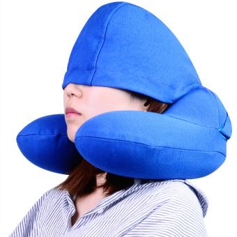 Harga Inflatable pillow U pillow travel supplies headrest neck pillow car neck pillow Sambo suit