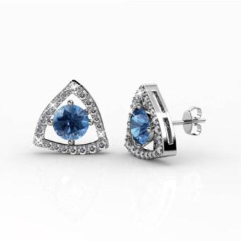 Harga Tri-Styled Earrings - Crystals from Swarovski®