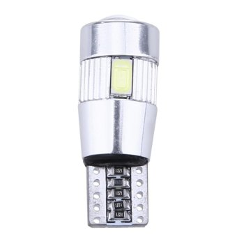 10x T10 501 194 W5W 5630 LED SMD Car HID Canbus Error Free Wedge Light Bulb - intl