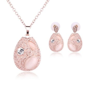 Harga Pendant Necklce Elegant Design For Women Jewellery Sets