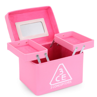 Harga Portable professional folding makeup box