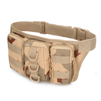 Harga Fanny Pack Military Tactical Camping Hiking Trekking Bike Waist Hand Bag Travel Camouflage Waterproof