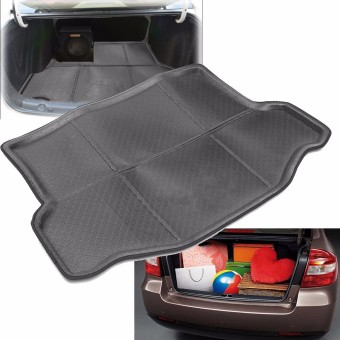 Rear Trunk Tray Boot Liner Cargo Mat Floor Protector for Toyota RAV4 2013-2015 - intl