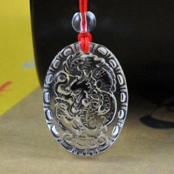 Harga Energy Opening anti-radiation lucky transport necklace pendant dragon pendant