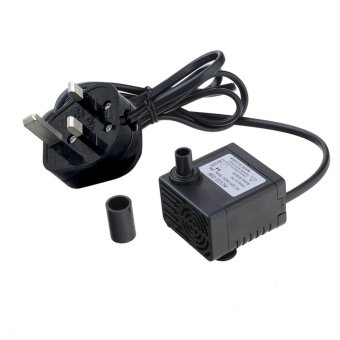 Harga 5W 320L/h Submersible Fountain Fish Aquarium Water Pump