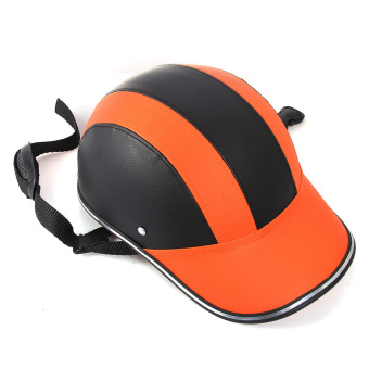 Harga Motorcycle Bike DOT Half Helmet Baseball Cap Style Safety Hard Hat Open Face New - intl