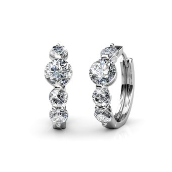 Harga Princess Ring Earrings - Crystals from Swarovski®