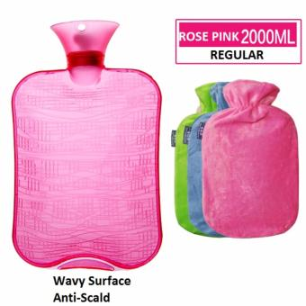 Harga Hot Water Bag / Heating Pad / Heat Pack / Travel Pillow / Winter / Hot and Cold Pack (Pink)