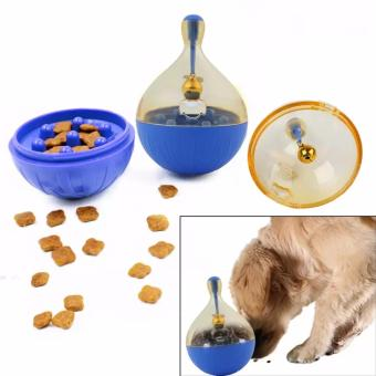 Harga Pet Interactive Roly-Poly Toy With One Bell For Cats And Dogs - intl