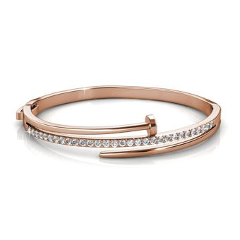 Harga Knotty Nail Bangle - (Crystals from Swarovski)