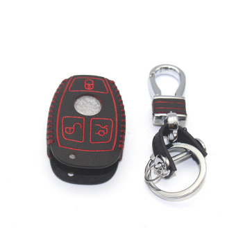 Harga 3 Button Car leather Smart Key cover for BENZ C180 C200 E260 E400 coupe CLS CLA GL G M R320 S400 SLK AMG