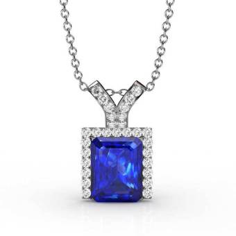 Harga Royal Pendant (Blue) - Crystals from Swarovski®