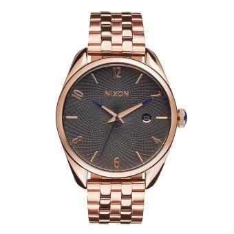 Harga Nixon Watch Bullet Rose Gold Stainless-Steel Case Stainless-Steel Bracelet Mens NWT + Warranty A4182046