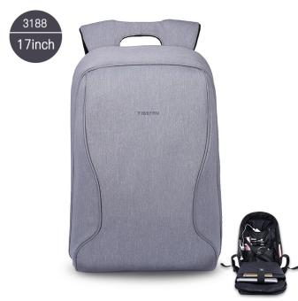 Harga Tigernu 17 Inches Fashion Business Casual Laptop Backpack For12-15.6inches Laptop(silver grey)