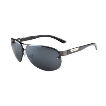 Harga Men's Eyewear Pilot Sunglasses Men Sun Glasses Grey Color Brand Design - intl