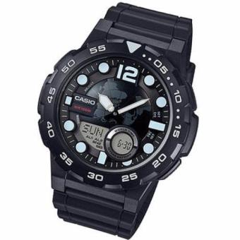 Harga CASIO WORLD TIME 100M AWQ100W-1A