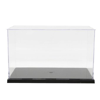 Harga Plastic Acrylic Display Show Box Case Toy Dustproof Tray Protection 7.5'' H - intl
