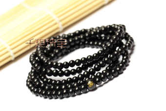 Harga Purple sandalwood prayer beads bracelet
